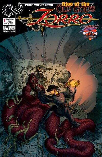 Zorro – Rise of the Old Gods #1 – 4 (2019-2020)