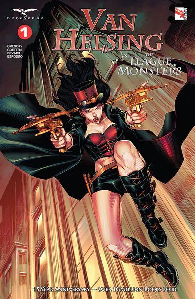 Van Helsing Vs The League of Monsters #1 (2020)