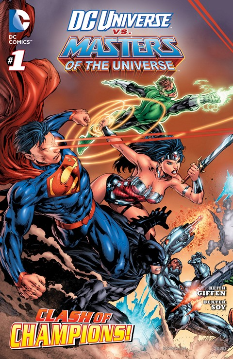 DC Universe vs The Masters of the Universe 001-006 Free Download