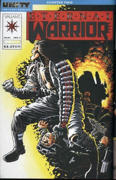 Eternal Warrior Vol. 1 #1 – 50 (1992-1996)