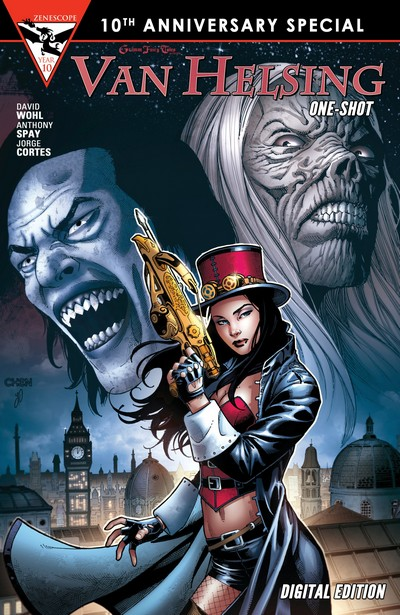Grimm Fairy Tales Presents Van Helsing One Shot (2015)