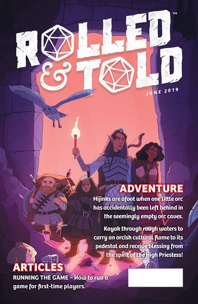 Rolled And Told #10 (2019)