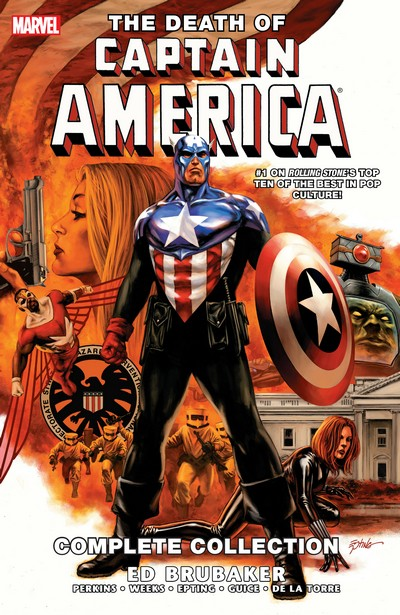 Captain America – The Death of Captain America – The Complete Collection (2013)