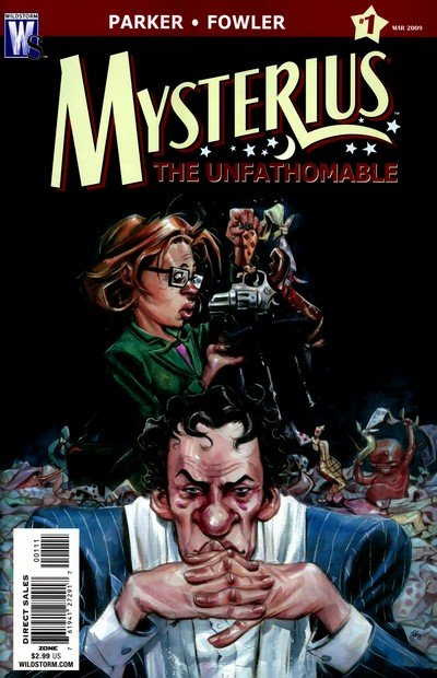 Mysterius The Unfathomable #1 – 6 (2009)