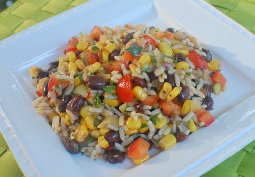 Sofrito Rice Salad