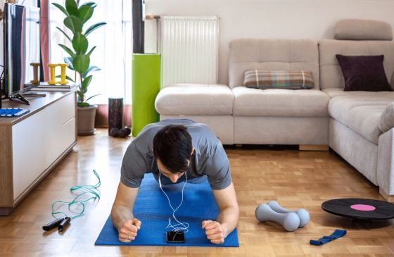 Five Workouts to Do at Home During the Coronavirus Outbreak