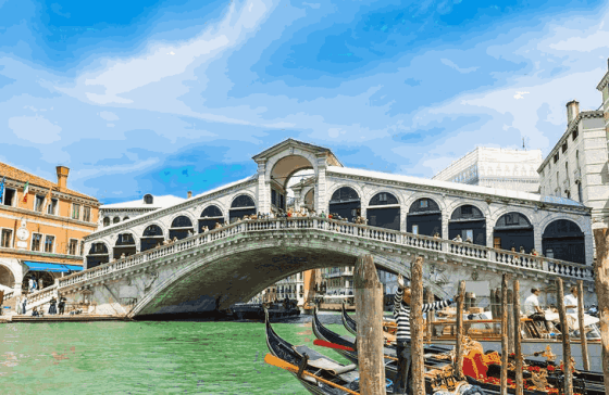 Top 5 places when travelling to Venice