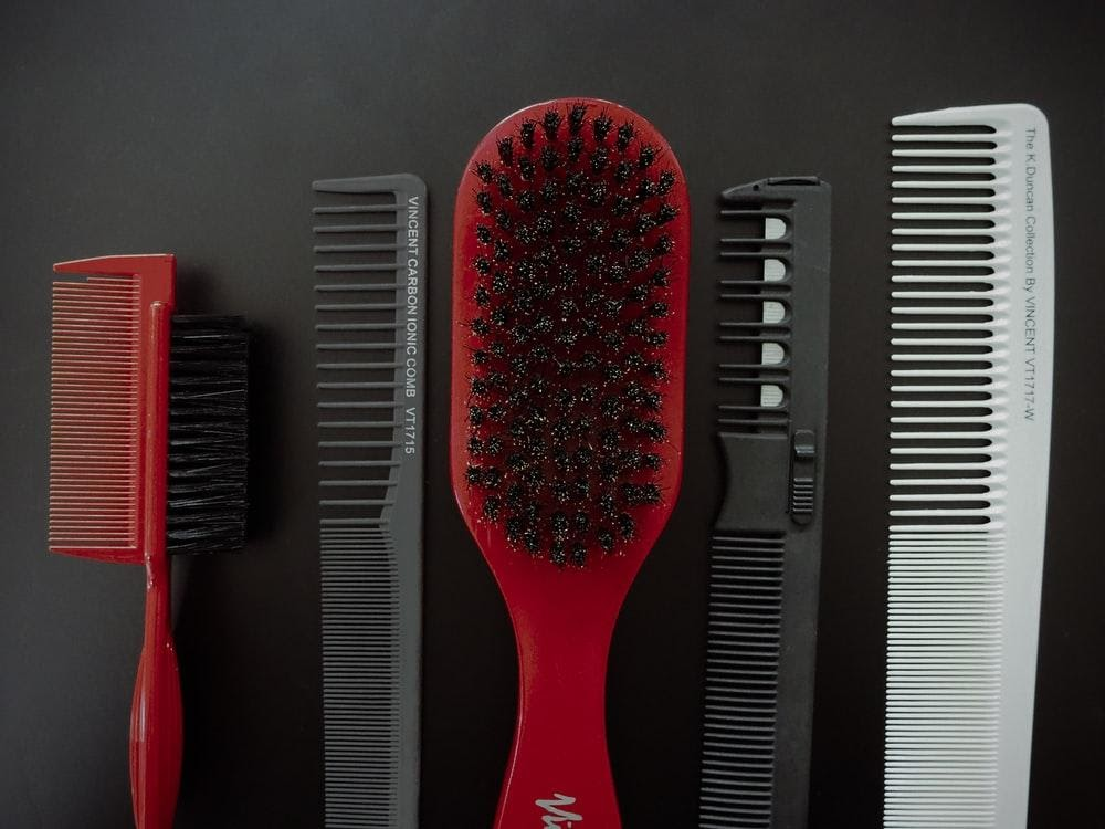 Finding Comb for Hair