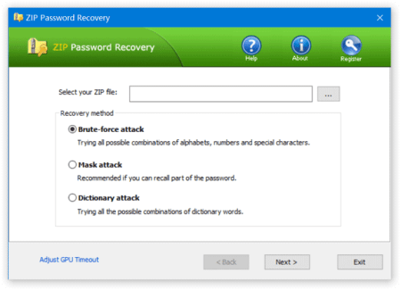 ZIP Password Recover 8.2.0.5 With Crack Free For PC Full Review
