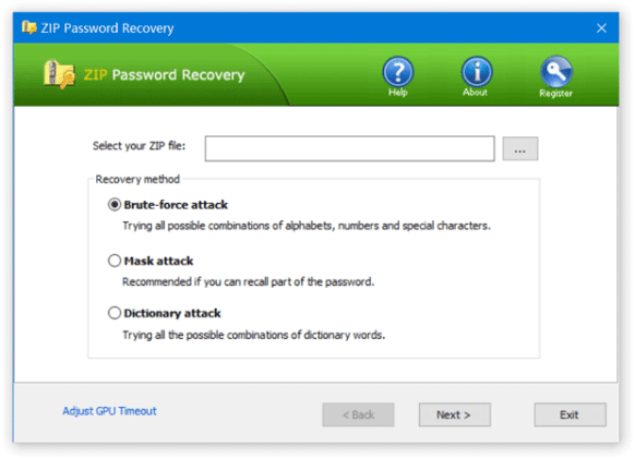 ZIP Password Recover 2.1.2.0 With Crack Free For PC Full Review