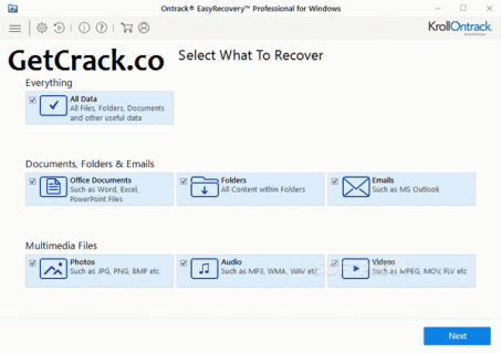 Ontrack EasyRecovery Professional 15.0.0.0 Crack + Serial Key [Latest]