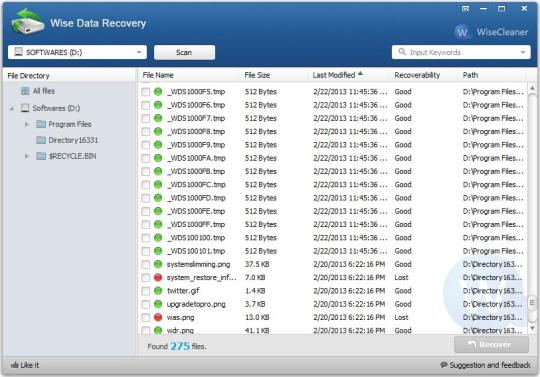 Wise Data Recovery Crack With Activation Key