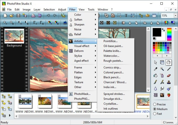 PhotoFiltre Studio Crack With Key Free Download