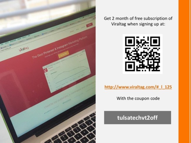 Viraltag 2-Month coupon