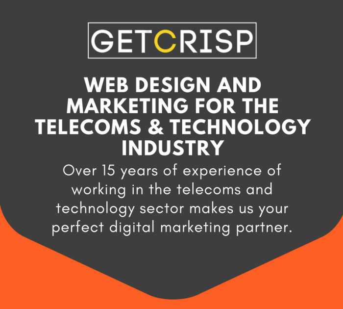 Digital marketing for telecoms and technology industry.