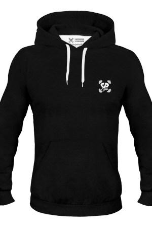 Get Down Logo Hoodie Black