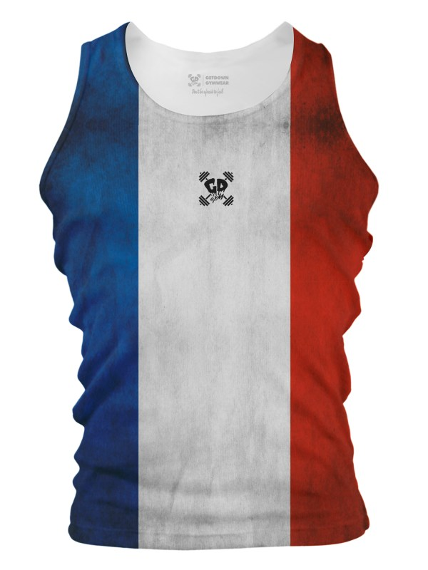 French Flag Tank