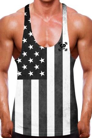 USA Flag Stringer Vest