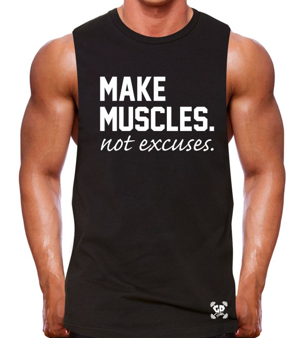 muscle tank rugged black