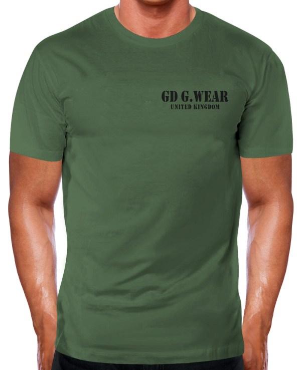 GD G.Wear Military Gym T Shirt