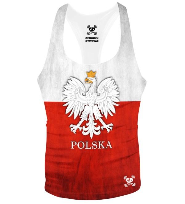 Polska Poland Flag Stringer Vest