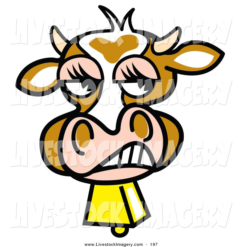 Cow Clipart Face