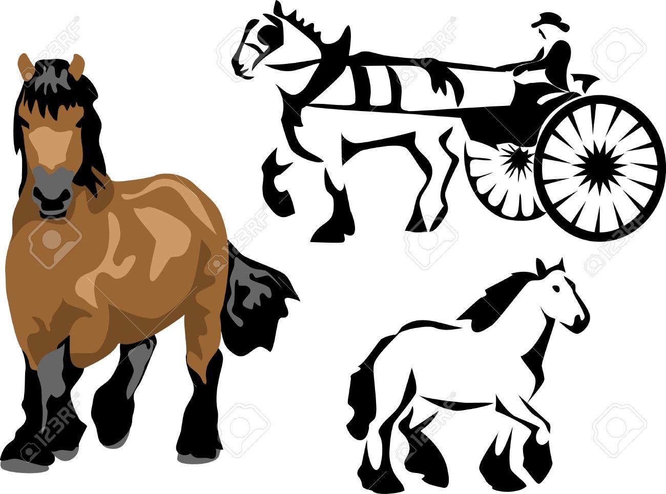 Draft Horse Clipart At GetDrawings.com