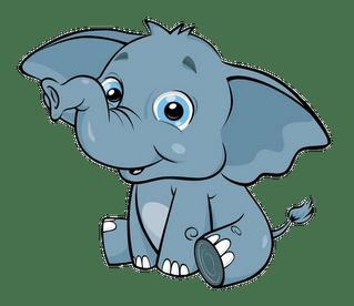 Elephant Cartoon Clipart