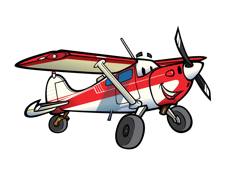 Small Plane Clipart