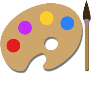 Paint Palette Clipart At GetDrawings Com Free For Personal Use 474x474 Painting Template ClipArt Best
