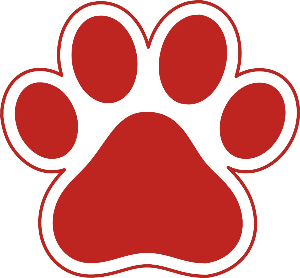 Paw Print Clipart at GetDrawings   Free download (1144 x 1058 Pixel)