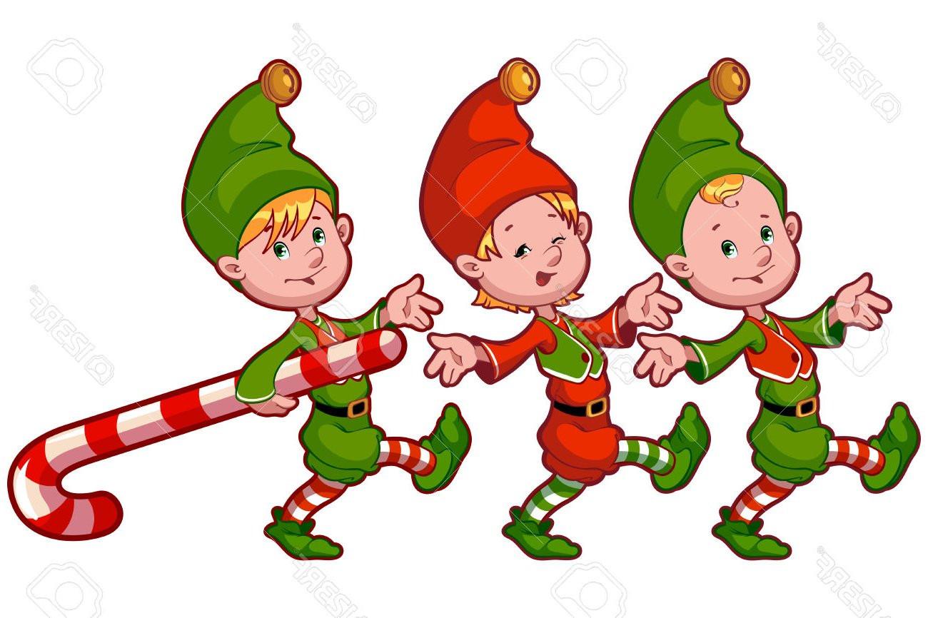 Santa And Elves Clipart At Getdrawings