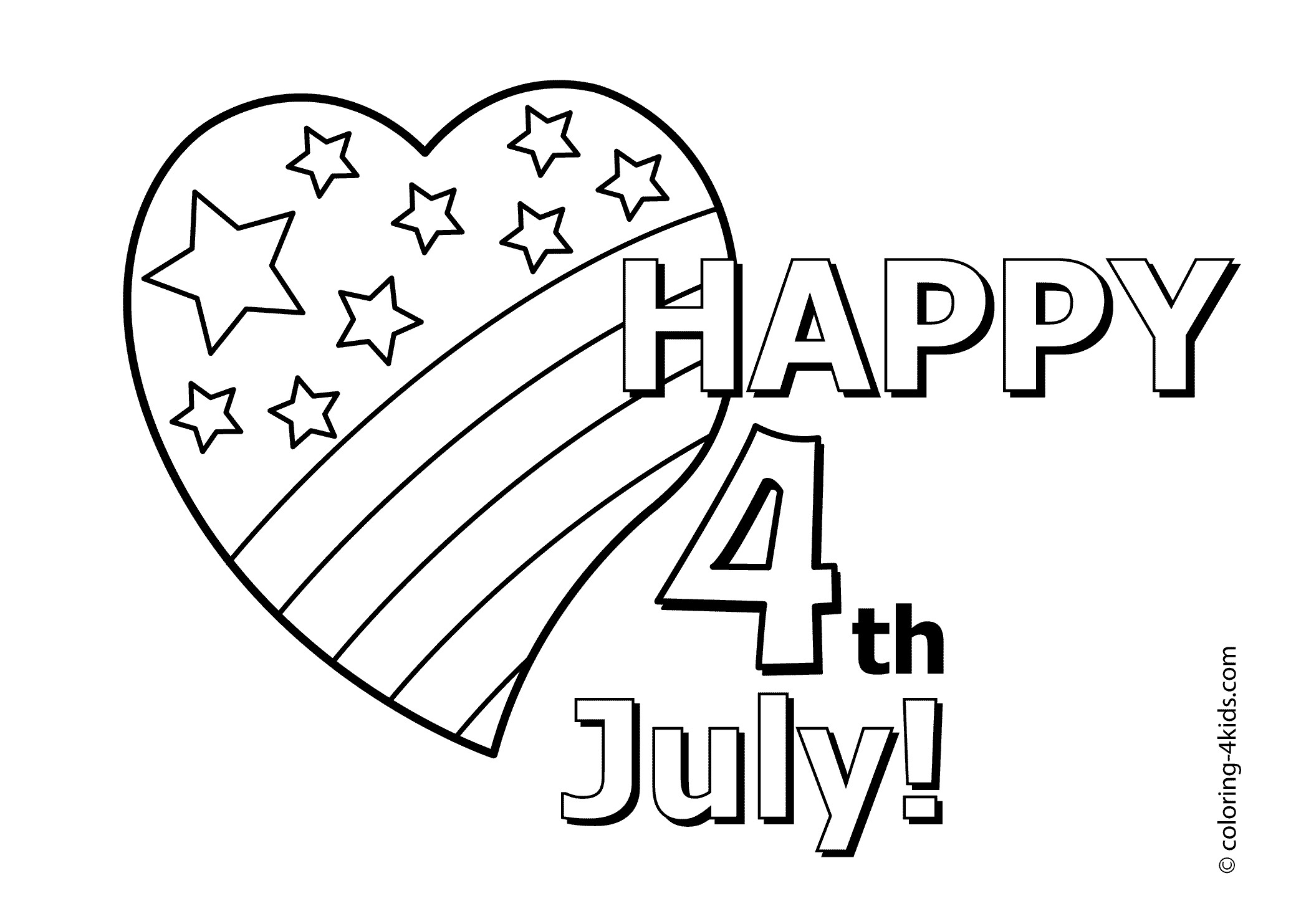 4th Of July Clipart For Kids At Getdrawings