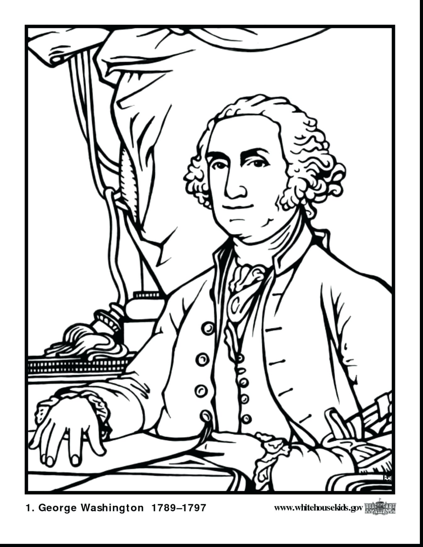 Abraham Lincoln Coloring Pages Printable At Getdrawings