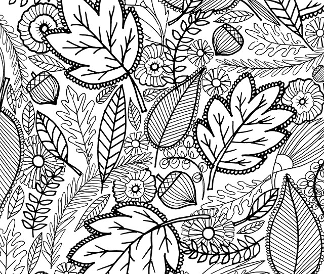 Adult Coloring Pages Fall At Getdrawings Free Download