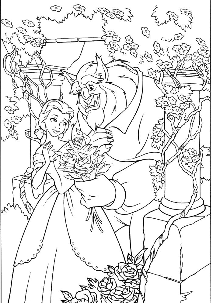 Unique Disney Coloring Pages For Adults Novocom Top