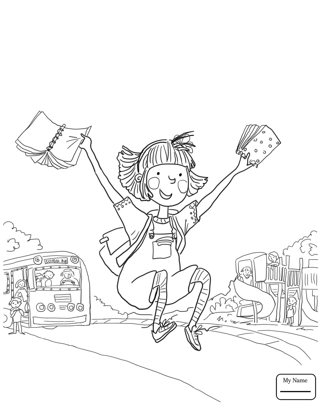 Amelia Bedelia Coloring Page At Getdrawings