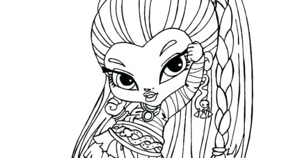 monster high baby coloring pages # 72
