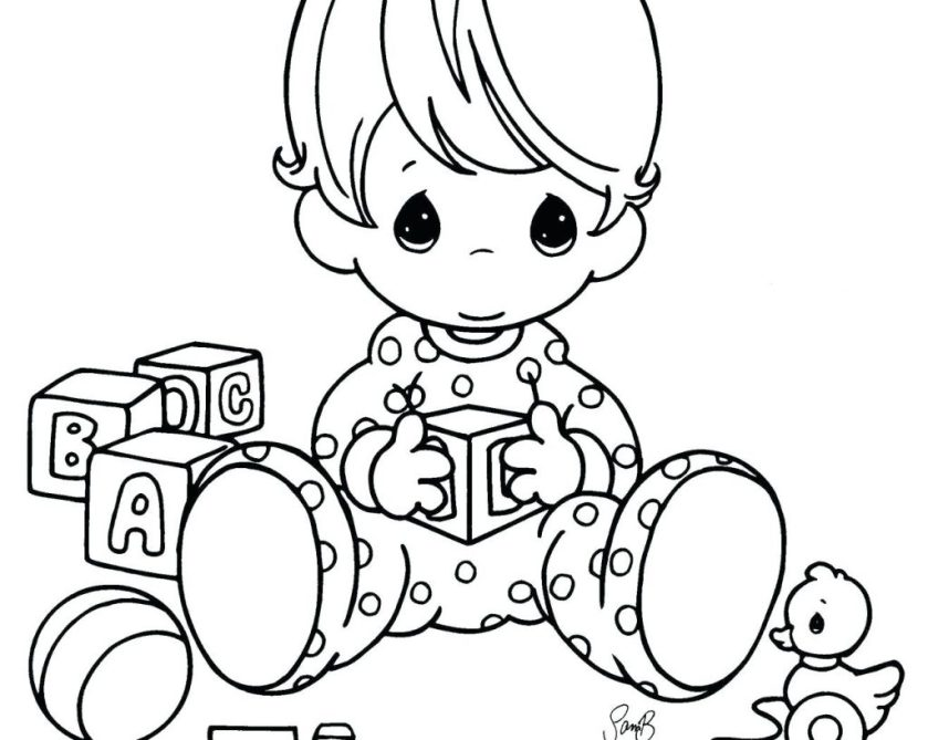 baby shower coloring pages printables at getdrawings