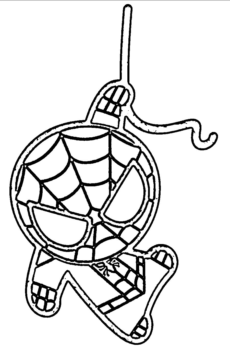 Cute Baby Spider Man Spiderman Coloring Pages Novocom Top
