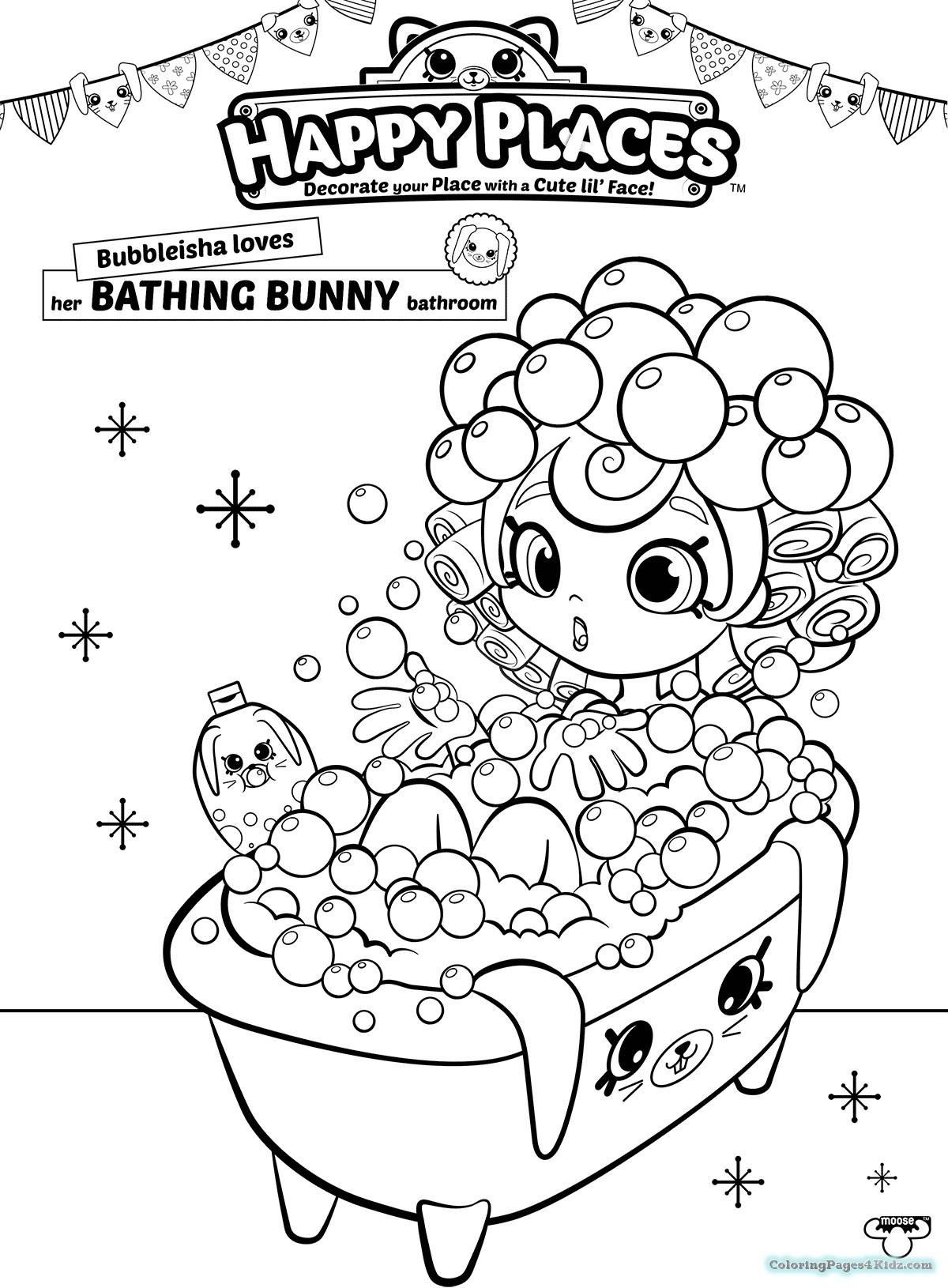Bathroom Coloring Pages At Getdrawings