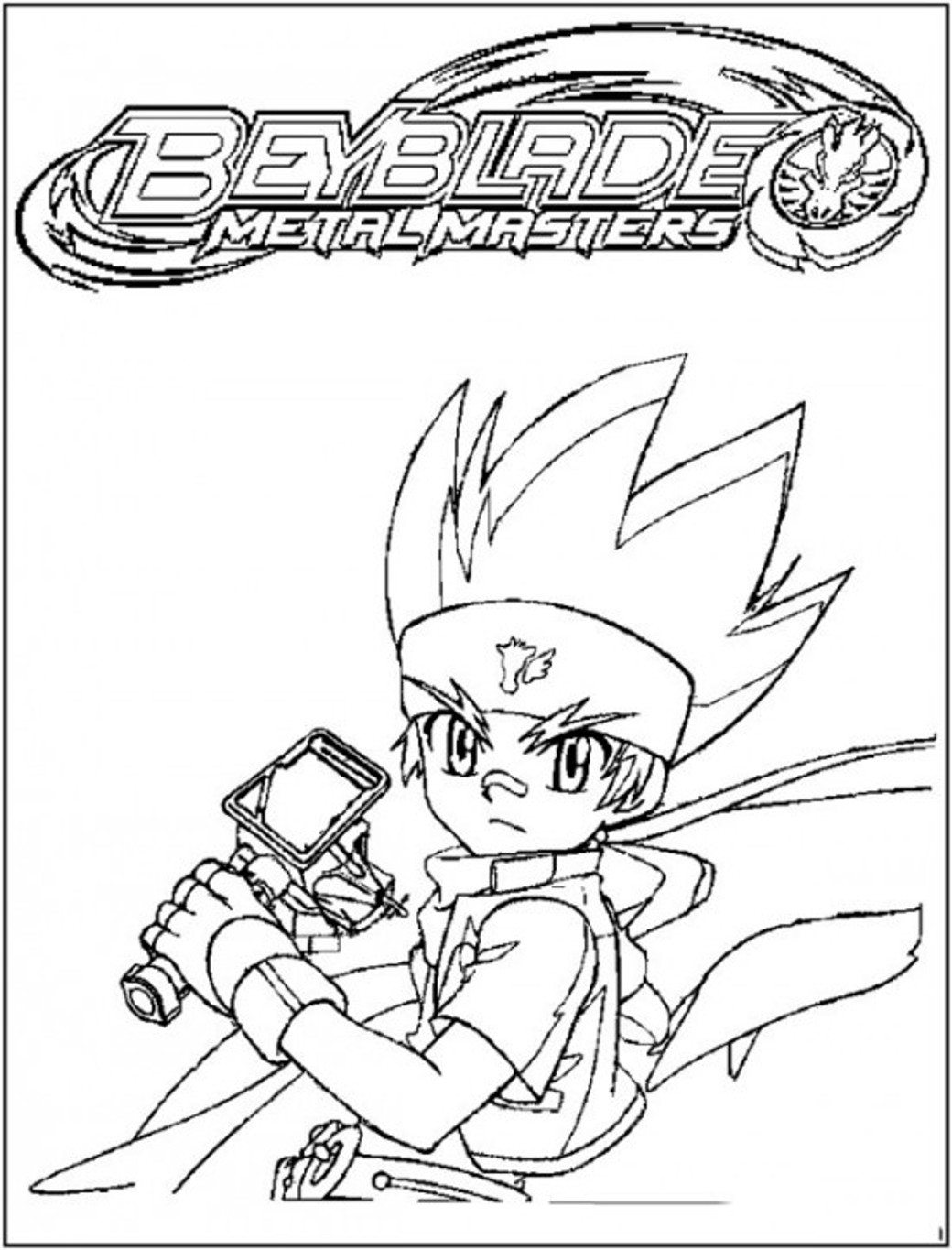 Beyblade Coloring Pages At Getdrawings