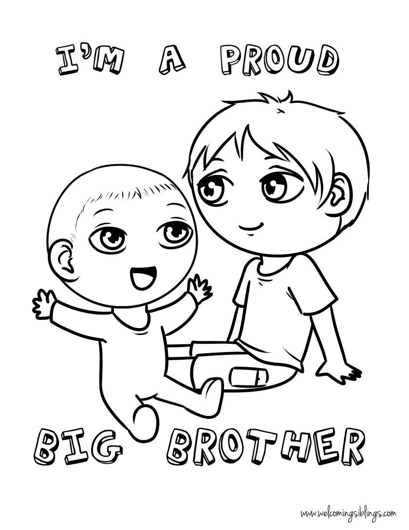 big sister coloring pages printable at getdrawings  free