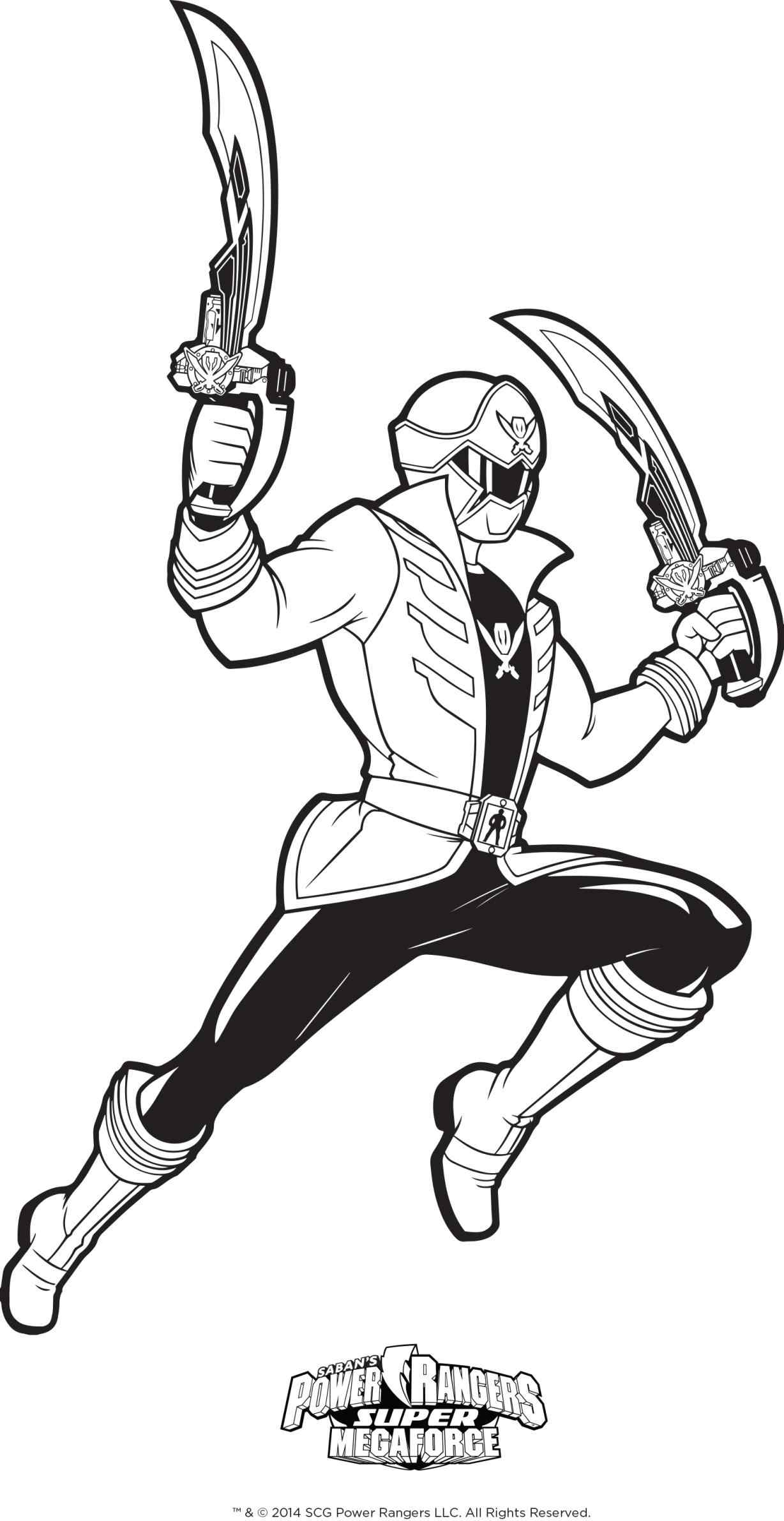 Blue Power Ranger Coloring Pages At Getdrawings