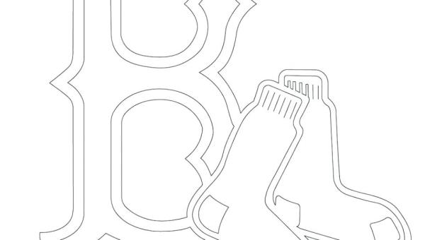 red sox coloring pages # 31