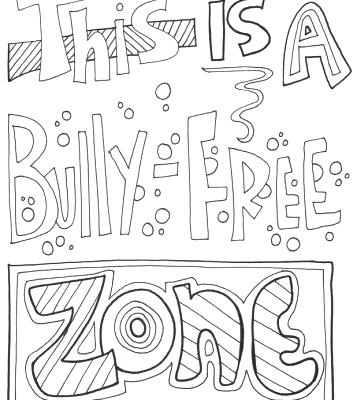 bullying coloring pages # 48