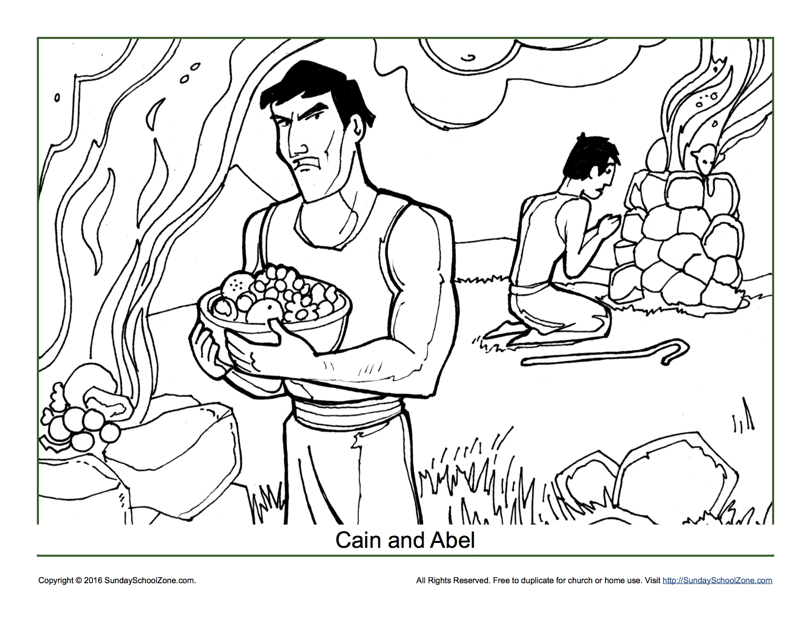 Cain And Abel Clipart At Getdrawings