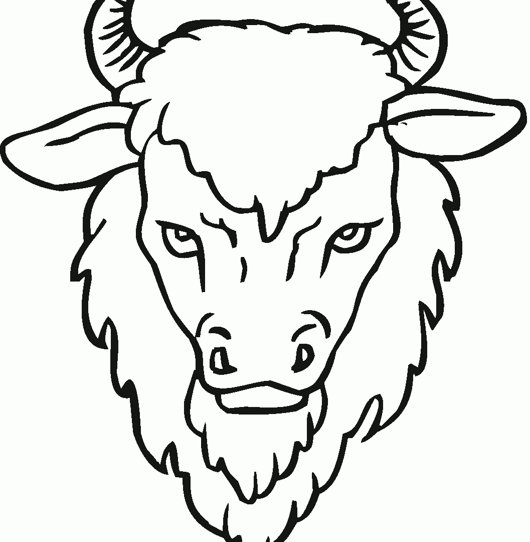 Cape Buffalo Coloring Pages At Getdrawings