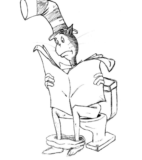 the cat in the hat coloring pages # 48