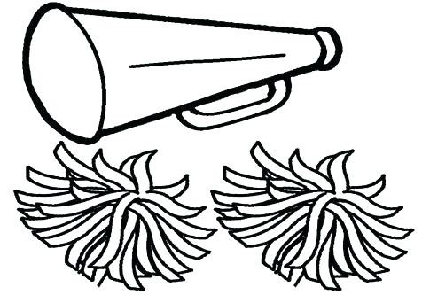 cheer coloring pages # 14